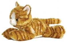 Molly the Tabby Cat (Mini Flopsie) at theBIGzoo.com, a family-owned gift shop with 12,000+ animal-themed items.