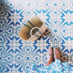 Beautiful floor tiles.