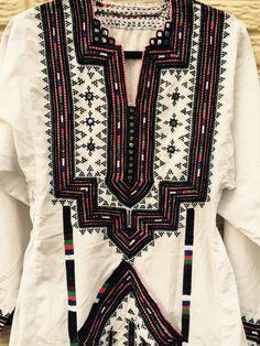 Robe blanche baloutche par Durryscollection3 sur Etsy