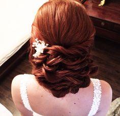 #bride #wedding #hair