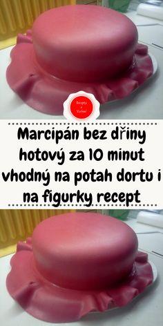 Marcipán bez dřiny hotový za 10 minut vhodný na potah dortu i na figurky recept