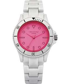 Buy Identity London Unisex White with Pink Tinted Lens Watch at Argos.co.uk - Your Online Shop for Unisex watches.