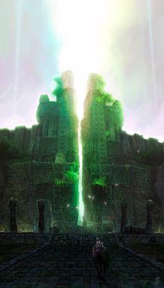 Shadow of the Colossus Fan Art - Created by Jesús Campos Jiménez