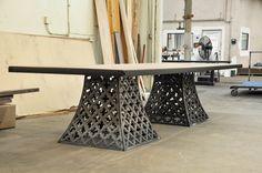 Lattice Floyd Conference Table – Model #F6 – Vintage Industrial Furniture