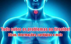 Sofre de problemas na tireoide? Confira uma dieta nutricional para hipertireoidismo e hipotireoidismo, com informações e cardápio de 7 dias.