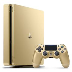 Console Playstation 4 Slim Sony 1TB Gold Edition - Dourado Bvolt