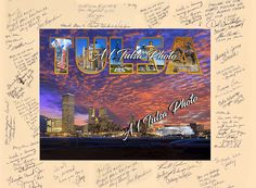 Retirement gifts for Tulsa executives' this poster makes an excellent gift for the retiring executive. Real Estate Photography, Aerial Photography, Tulsa Oklahoma, Retirement Gifts, Poster Making, Thing 1, How To Make, Pictures, Photos