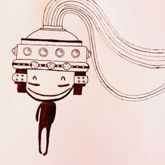 FlyDesign #illustration  #scifi #kid #helmet