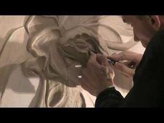 искусство барельефа.Как сделать барельеф своими руками.мастер-класс.лепнина на стене - YouTube