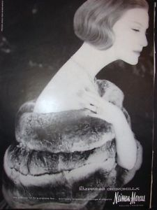 vintage chinchilla fur coat ads | Collectibles > Advertising > Clothing, Shoes & Accessories > Clothing ...