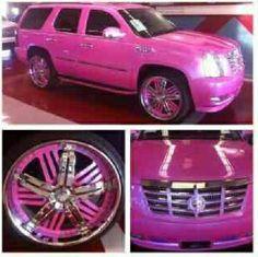 An Escalade has always been my dream vehicle!! I want this soooo bad!!!
