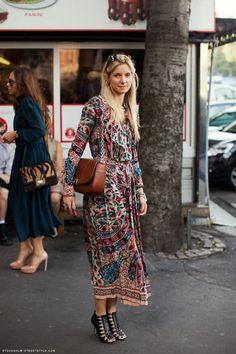 boho dress: