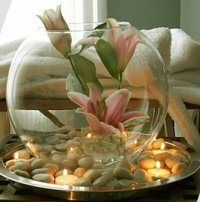 Decorating Ideas for a Spa Party | I am Mani - Life is precious - Don't waste it