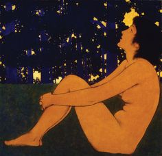 Maxfield Parrish Moonlight   Maxfield Parrish, reconsidered - Museum And Gallery