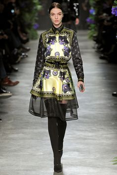 Givenchy | Fall 2011 Ready-to-Wear Collection | Mariacarla Boscono Modeling | Style.com