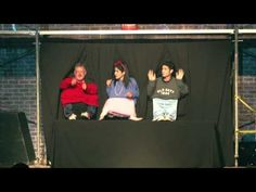 Little People Skit - The City Variety Show Skits For Kids, People Puppets, Family Camping Games, Chromatography For Kids, Bible Humor, People Dancing, Dance Humor, Talent Show, Elementary Music