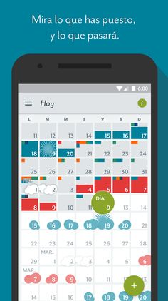 Clue Calendario Menstrual.Period Tracking Apps Like Clue Often Have Simple Menstrual Calendars