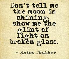 Classic writing advice from Anton Chekhov