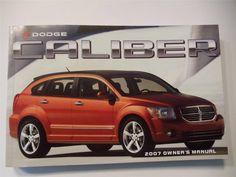 2007 Dodge Caliber Owners Manual Book