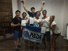 3 New PADI Dive Instructors , one New IDC Staff Instructor and a fresh New Course Director straight from the CDTC at Oceans 5 Gili Air! Wel done! #diveinstructor  #instructortraining #indonesia #giliair #padiidcgiliair #padi #padiidcgili