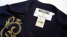 Moschino Couture pullover jacket sweater embroidered sun