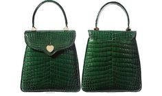 The green bag inspired by Princess Diana will go up for auction on September 26 in Beverly Hills.