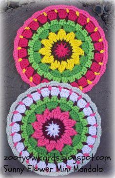 crochet mandala - FREE pattern
