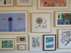 framed illustrations