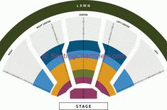 Fred Kavli Theatre Seating Chart