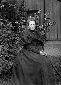 """vintage-sweden: """"Unknown woman, 1880, Sweden. """""""