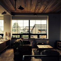 YUHさんの、リビング,ナチュラル,IDEE,TRUCK,TRUCK FUNITURE,大きな窓,FKソファ,白い家,自然と暮らしたい,SLOW LIFE STYLE,のお部屋写真
