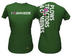 I Love John Deere T-Shirt