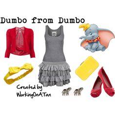 """Dumbo from Dumbo"" by workingonatan on Polyvore"