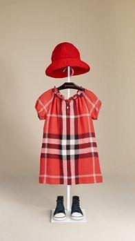 Check Smock Dress | Burberry kids