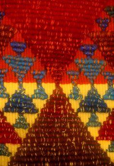 Cellule détail 200 x 100 cm  Tapisserie de haute lice