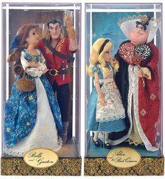 A new collection of Disney Designer Dolls will be releasing next month, through the end of the year. These dolls are known for their intricate designs, and atte Disney Collector Dolls, Disney Barbie Dolls, Disney Princess Dolls, Deco Disney, Disney Nerd, Disney Animators Collection, Princesa Ariel Disney, Robes Disney, Disney Decendants