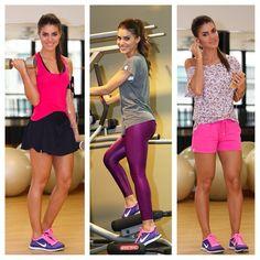 Camila Coelho  Pra mim ela tem os melhores looks para malhar.  Inspire-se!!