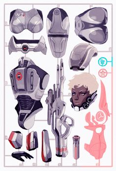 30 DAY CHALLENGE // DAY FIVE // YOUR FAVORITE OUTFIT Master Grade Spectre Ver. Femshep! My outfit in ME3