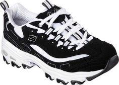 Skechers Women's D'Lites Sneaker, Size: 9.5, Biggest Fan/Black/