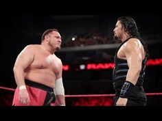 Samoa Joe vs Roman Reigns Jan.1,2018 WWE RAW - YouTube