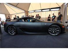 Matte Black Lexus LFA #sexy