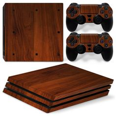 White Wood Motiv Faceplates & Designfolien Sony Ps4 Playstation 4 Skin Design Aufkleber Schutzfolie Set