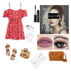 """""""Happy Memorial Day Polyvore♡"""" by simbababexo on Polyvore featuring H&M, Ancient Greek Sandals, NBD, NARS Cosmetics, Casetify, Icon, Lucky Brand, Summer, WhatToWear and happymemorialday"""