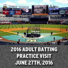 3354466f95782 New York Yankees vs. Texas Rangers - Steiner Adult Batting Practice Visit  June… New