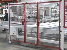 SV160 Inline Automatic with Pick & Place Infeed Wrapping Fence Panels