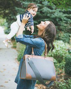 LOVE this diaper bag! Manifest Weekender Lifestyle | little unicorn