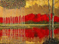 Ford ha cominciato a dipingere sotto la guida un anziano pittore giapponese quando aveva solo dodici anni e suo padre era addett...