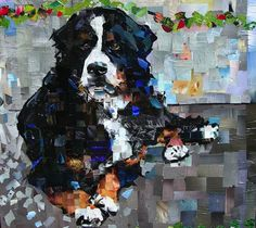 Samuel Price's Incredible Dog Portrait Collages