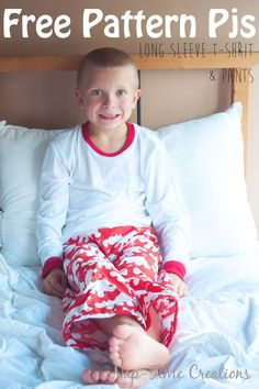 Boys Long Sleeve T-Shirt Free Pattern from Nap-Time Creations: