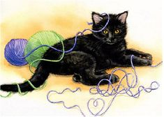 Diy Black Cat Cross Stitch Diamond Painting 5D Home Wall Decor